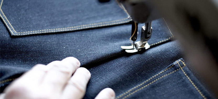 Denim Jeans Pant Stitching