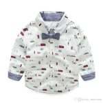 White stylish Casual Shirt for Kid