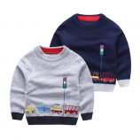 Sweatshirt in Black and Gray for kids