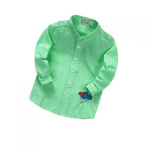 Green Casual Shirt for kids