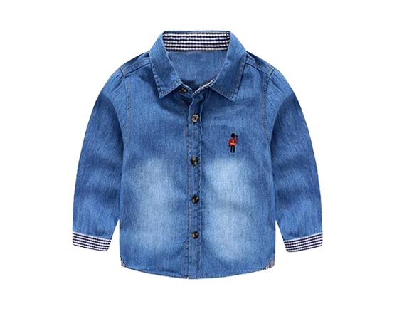 Blue Jeans Casual Shirt for kids