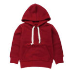 Mehroon Casual Hoodie for girls.
