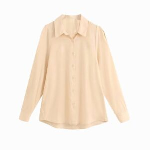 Peach color Casual Shirt for Women