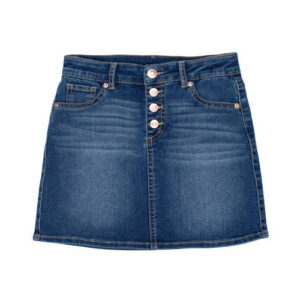 Dark blue jean skirt for girls