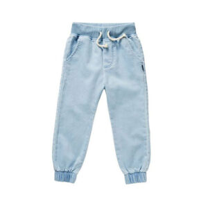 Trouser style jeans pant for girls