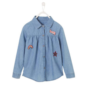 Jeans Casual shirt for girls