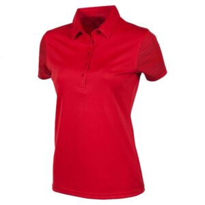 Red Slim Polo shirt for women