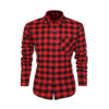 Red and Black Check Casual shirt