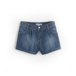 Dark Blue Denim Short for women