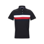 Red and While Striper Polo shirt