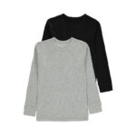Grey and Black Plain sweat shirt
