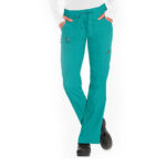 Green Stylish cotton pant for women