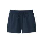 Navy Blue Jersey Shorts for women