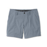 Grey Cotton shorts for women