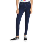 Dark Blue Denim Pant for women