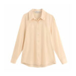Skin plain Casual shirt for women