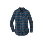 Green & Blue Check style casual shirt for women