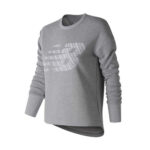 Grey Slim sweatshirt for women