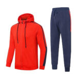 Red & Blue Tracksuit for women
